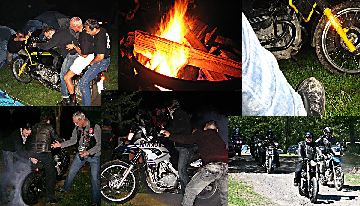 Geschenkidee für Motorradfahrer Motorradclub Treffen Lagerfeuer Feiern Biker