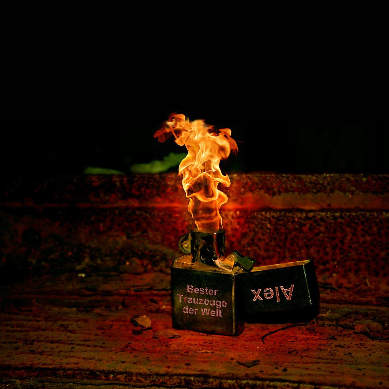 Zipp Feuerzeug Gravur Bester Trauzeuge der Welt